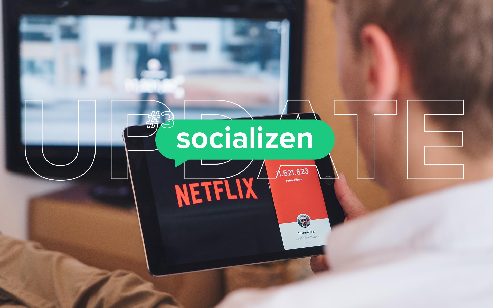 Facebook lanceert nieuwe tool en Netflix delen verleden tijd